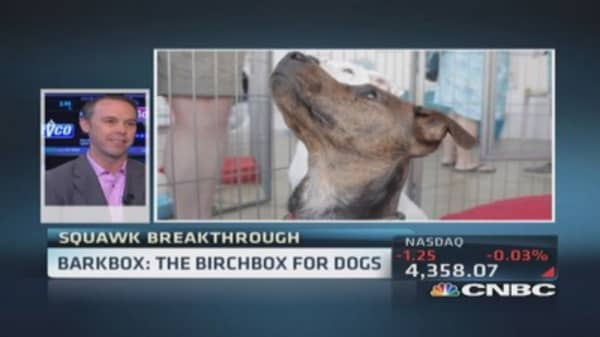 BarkBox's recession proof biz
