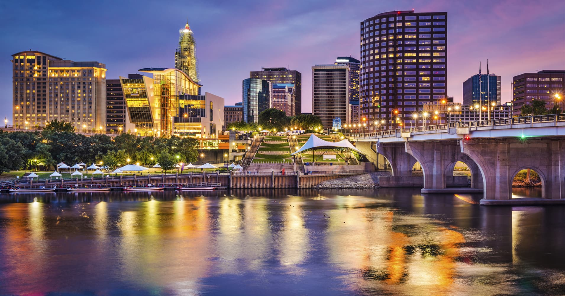 Hartford, Connecticut, is teetering on the brink of bankruptcy, with a projected $2.7 billion deficit for the new fiscal year, beginning July 1.