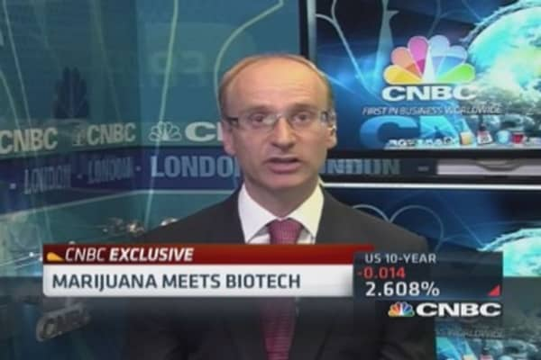 Marijuana meets biotech