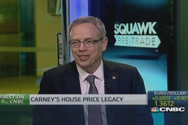 Canada house prices a 'concern': Fin Min