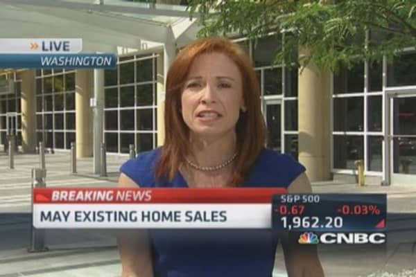 May existing home sales up 4.9%
