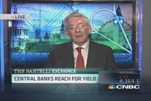 Santelli Exchange: Central banks chasing yield