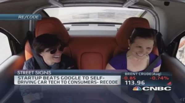Start-up creeps up on Google