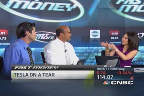 Tesla back to momentum stock: Trader