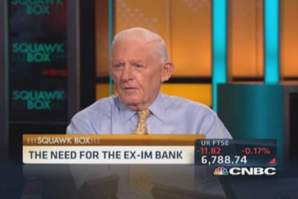 Need for the Ex-Im Bank: Bossidy