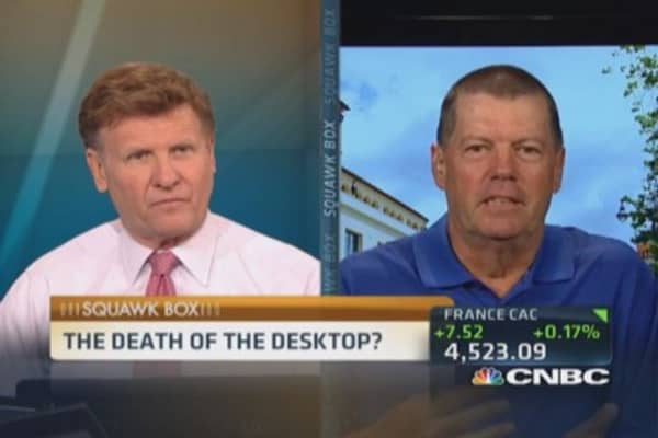Death of the desktop?
