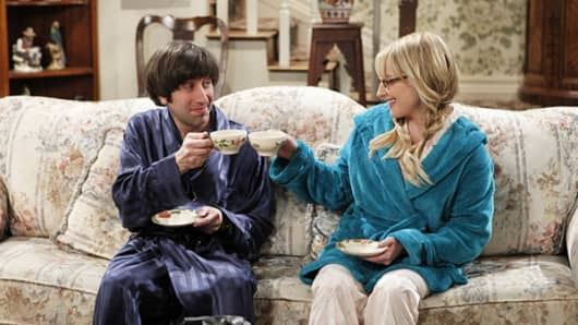 Still from CBS' The Big Bang Theory