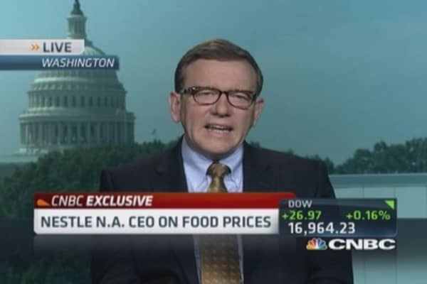 Nestle USA CEO: Constantly looking to acquire