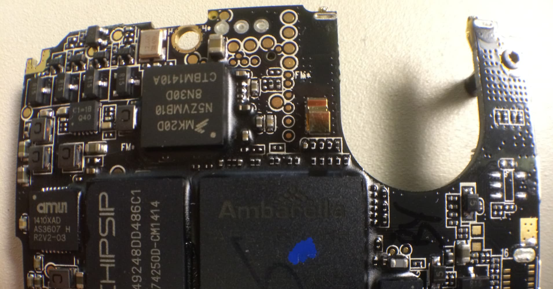 Chipmaker Ambarella Gets Bump From Gopro The Lr Series Circuit Electronics