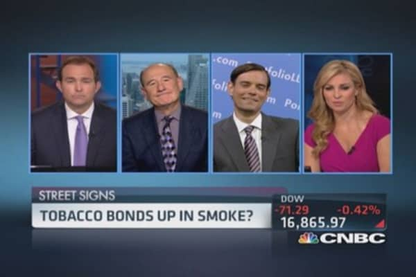 Risks to tobacco bonds