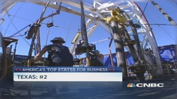 CNBC's Top State for Business: Runner-up