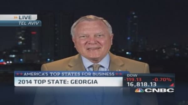 Gov. Deal: Georgia best to do business