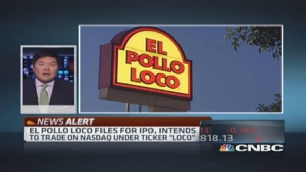 El Pollo Loco files for IPO