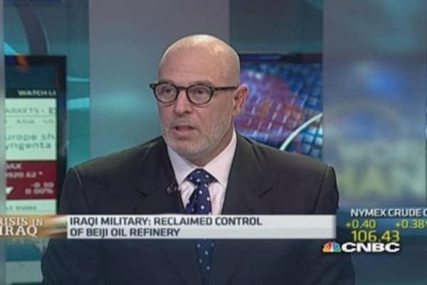 Iraq heading for three-way split: Ex-ambassador
