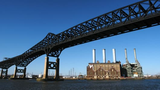 Pulaski Skyway in New Jersey.