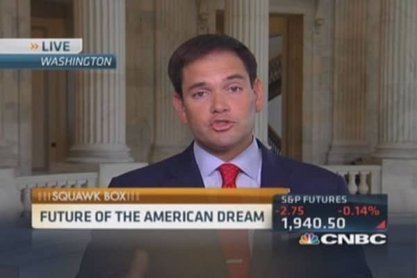 Sen. Rubio's alternative education plan