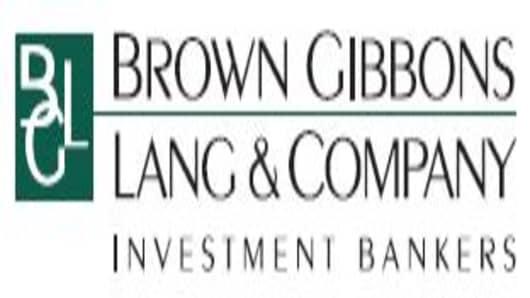 Brown Gibbons Lang logo