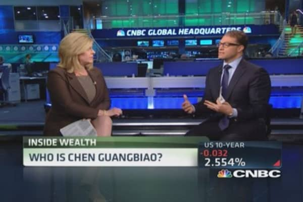 Who is Chen Guangbiao?