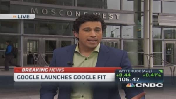 Google launches Google Fit