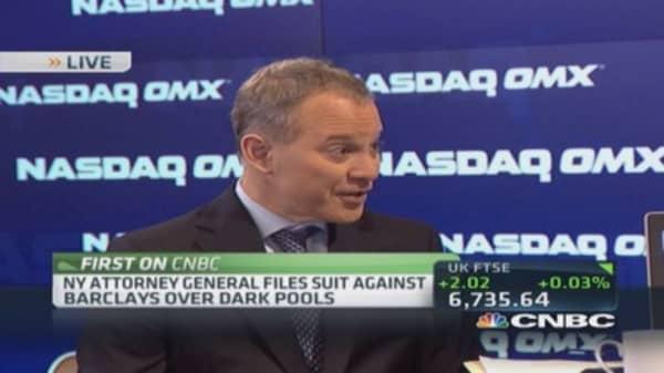 Barclays' 'dark pool' protection a 'sham': NY AG