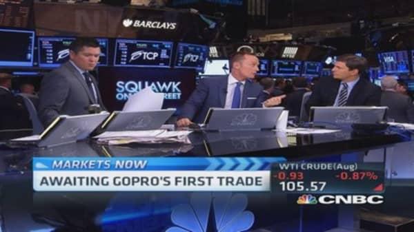 Unusual market volatility