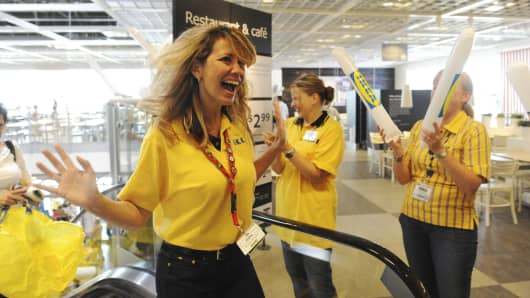 Ikea opened the doors of a new store in 2011.