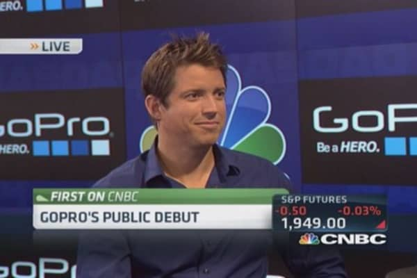 GoPro CEO's stunning vision