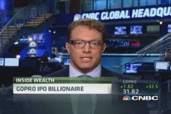 GoPro CEO officially a billionaire