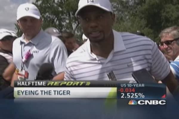 Tiger Woods' big comeback