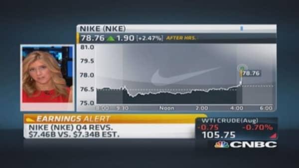 Nike reports Q4 earnings