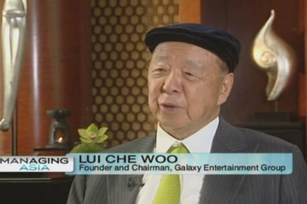 Galaxy Entertainment: China's slowdown won't hurt us