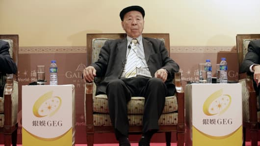 Lui Che-woo, chairman of Galaxy Entertainment Group Ltd.