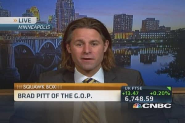 GOP's 'Brad Pitt' targets Obamacare and female voters