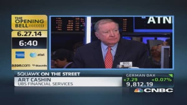 Cashin: Reweighting done today
