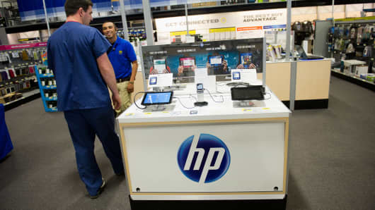 Hewlett-Packard Co., the world's largest computer maker, agreed to buy Autonomy Corp. for $10.3 billion in cash to increase sales of cloud services for businesses while lessening its reliance on personal computers.