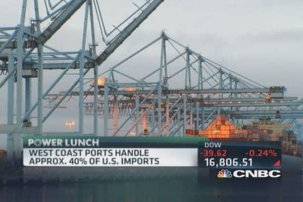 West coast port strike looms