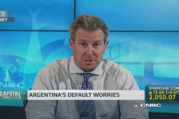 Default is a minor issue for Argentina: Pro