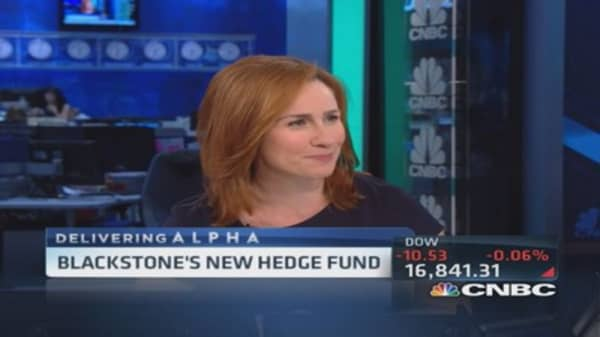 Blackstone's new hedge fund