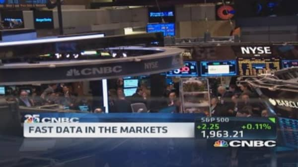 Fast data in the markets