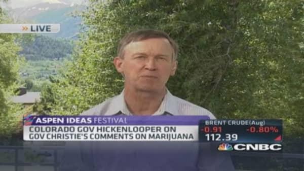 Gov. Hickenlooper: Regulating pot rigorously