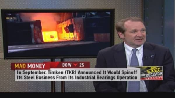 Could Timken 'Steel' the show?