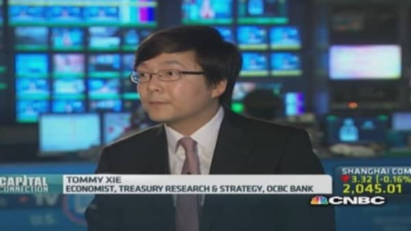 Don't get too happy over China PMI yet: OCBC