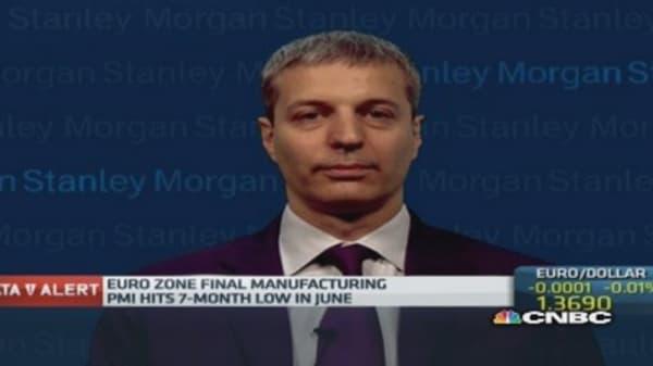 Euro zone going through 'growth rotation': Pro