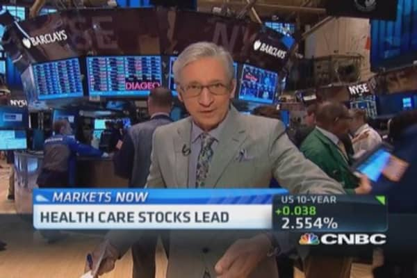 Pisani's market open: More growth
