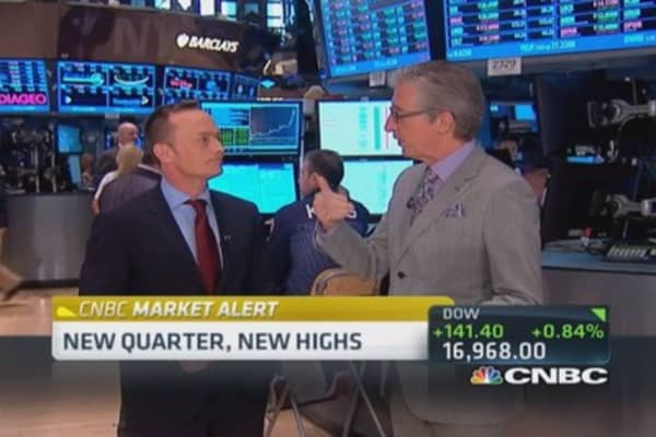 Pisani: Money flowing to mid-caps