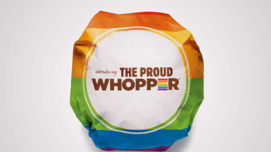 The Proud Whopper by Burger King
