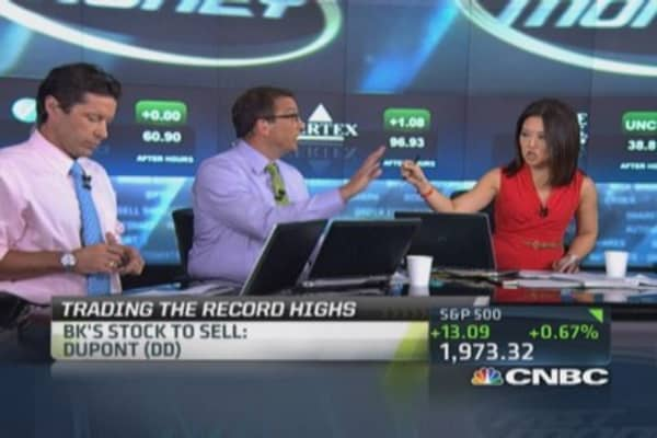 Traders' top stocks to buy and sell