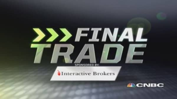 Fast Money Final Trade: TCK, XLU, PAN, XLY