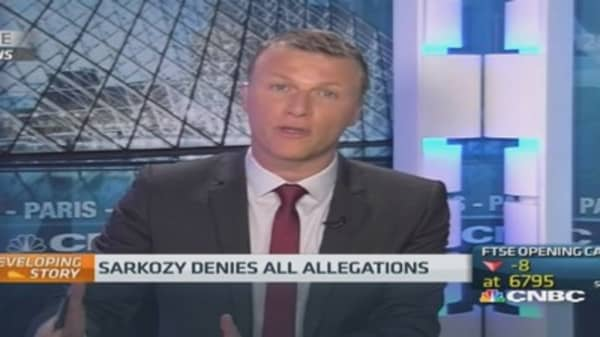 Ex-President Sarkozy in formal probe