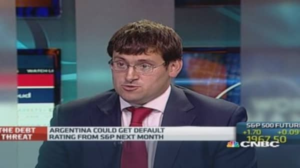 Argentina facing more bond default claims?